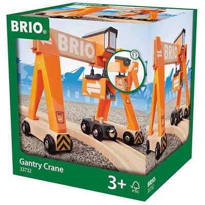 BRIO 33732 Gantry Crane for Wooden Train Set