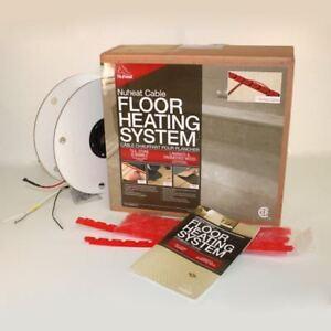 Nuheat in floor Electric Floor Heat Cable kit system 120V / 240V