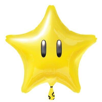 NINTENDO MARIO BROS SUPER STAR FOIL BALLOON GAME THEMED PARTY! - Mario Bros Party Theme