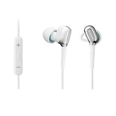 New SONY XBA-C10IP W Fit design Earphone Headphone white f iPod iPhone Japan EMS