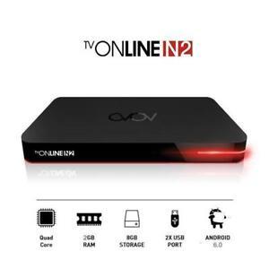 AVOV TVONLINE N2 4K -Dual Band WIFI -Quad Core 2G/8G
