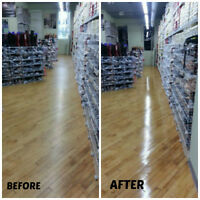 ALL Types of Flooring Refinished SANDLESS!!!!