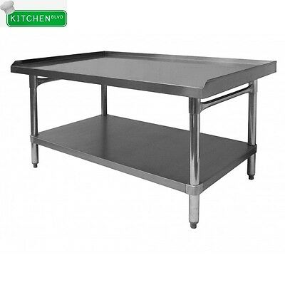 All Stainless Steel Equipment Stand 30 X 12 X 24
