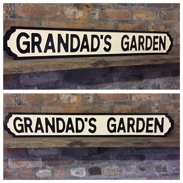 Hand carved, hand painted, solid timber street signs, choose your own words, made to order