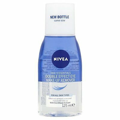 Nivea Daily Essentials Double Effect Eye Make-Up Remover All Skin Types 125ml