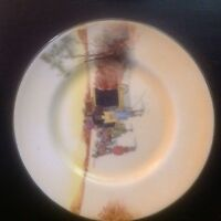 VINTAGE ROYAL DOULTON PLATE.SIDE PLATE COACHING DAYS