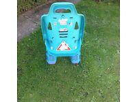 Child's rear bike seat