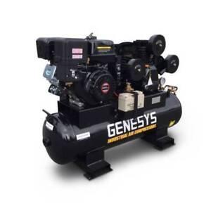 Petrol Air Compressor Piston 15HP 42 CFM 120L 125PSI Laverton North Wyndham Area Preview
