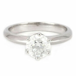 14k White Gold Diamond ring(1.27ct tdw, 3.6gr) #3343