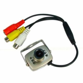 960P AHD Mini Camera, 3.6mm Lens - Silver