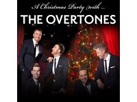 2 x tickets OVERTONES VIP Friday 02/12/2016 at 19.00 OXFORD NEW THEATRE - Great seats, discounted!