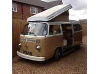 Volkswagen bay window 1973 Westfalia continental rhd. Not Splitscreen t25 t4 t5