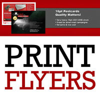 Flyer Printing - Lowest Prices!