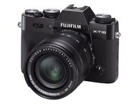 Fuji X-T10 Camera - Body only - As New £350