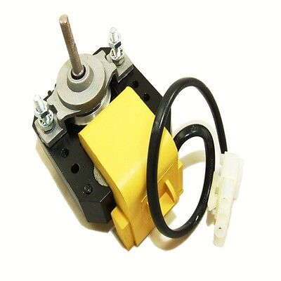 DRINK FRIDGE EVAPORATOR FAN MOTOR LARGE 3/16 SHAFT 240V WITH PLUG RF001B