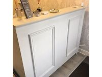 Stunning wooden reception desk! Only 2 years old!