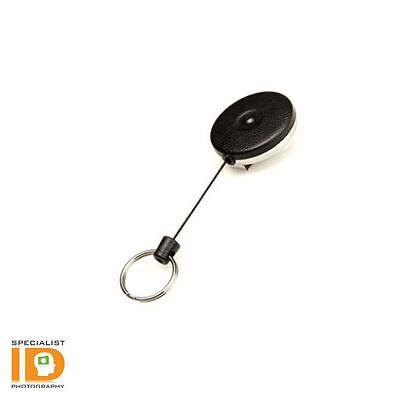 Key-bak 483b-hdk Retractable Key Chain Kevlar Reel Belt Loop - Made In Usa
