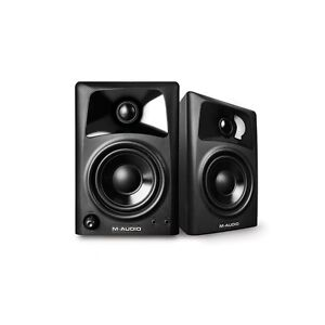 M-Audio AV32 Active Powered Desktop Reference Studio Monitors PAIR Inc Warranty