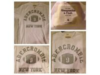 Urgent Sales!!!Abercrombie, Hollister, Rap Lauren MEN TEES & Polo ! £5 each, 70 available