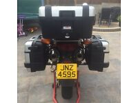 GIVI TREKKER atop box and panniers in new condition