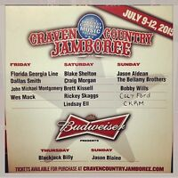 2 TICKETS TO CRAVEN