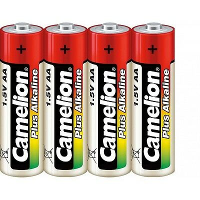 Set of 4 batteries/battery Camélion Alkaline Plus AA LR06 under cello