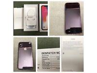 iPhone X 256gb Unlocked Space Grey