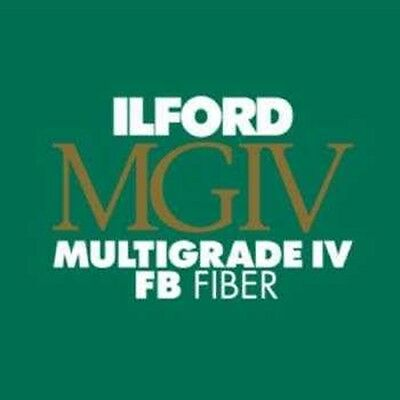 """Ilford Multigrade MGIV FB Black & White Paper 16 x 20"""" Glossy 10 Sheets 1833645"""