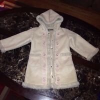 Beautiful Soft Furry Girls Coat size 3
