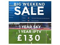 Zgemma H.2S 1 year tv and iptv Gift WEEKEND Sale