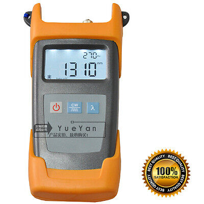 Handheld Optic Fiber Tester Handheld Optical Light Source Sm 13101550nm Tester