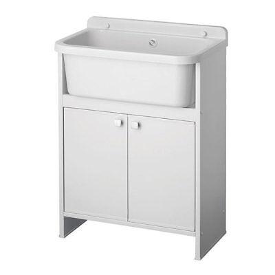 Mobile lavatoio da lavanderia 55x35 cm pilozza da interno o esterno