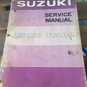 1973 Suzuki TS100 TC100 Service Manual