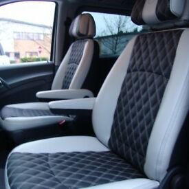 LEATHER CAR SEAT COVERS FOR TOYOTA PRIUS TOYOTA PRIUS PLUS VAUXHALL ZAFIRA SEAT ALHAMBRA PEUGEOT 508