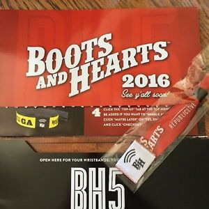 Boots and heart ticket! Need gone