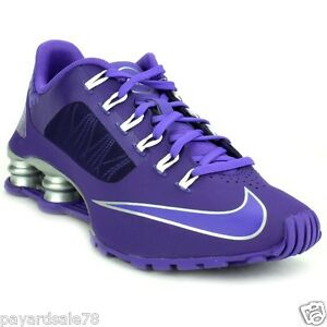s nike shox sneakers shoes athletic purple running