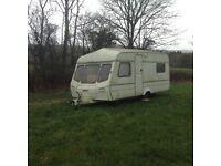 Caravan for sale £110 left on our campsite