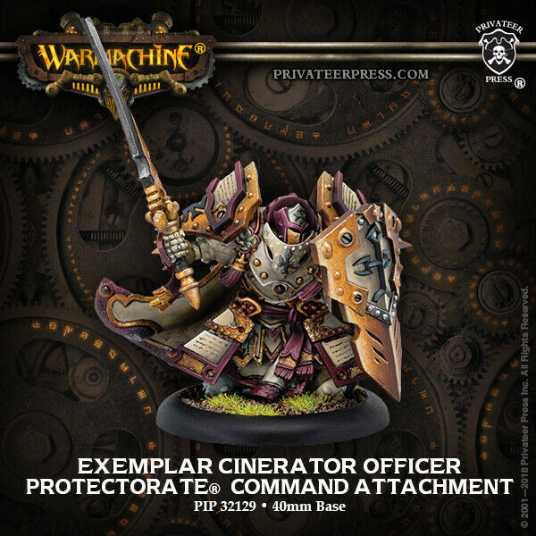 Protectorate of Menoth: Exemplar Cinerator Officer - Command Attachment THG