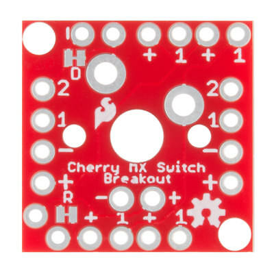 Sparkfun Cherry Mx Switch Breakout -bob-13773 2-pack
