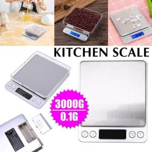 Digital Scale Jewelry Kitchen Food Pocket Gram Gold Silver C
