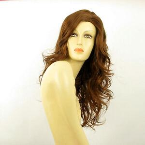 perruque femme longue ondul e ch tain dor cuivr jennifer 30 ebay. Black Bedroom Furniture Sets. Home Design Ideas