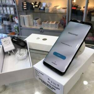 Galaxy s8 64gb black 2 years samsung warranty tax invoice Surfers Paradise Gold Coast City Preview