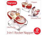 3 in 1 tiny love rocker napper