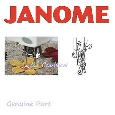 JANOME Open Toe Darning Free Hand Motion Stippling Quilting Embroidery Foot - B  - Free Motion Open Toe Foot