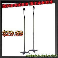 NEW!! Speaker Stands ( in Black or Silver)