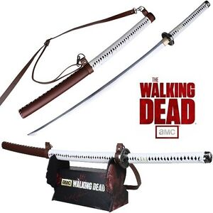 THE-WALKING-DEAD-MICHONNE-KATANA-SIGNATURE-EDITION-LICENCED-MC-WD001S-NEW
