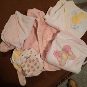 Baby bath lot (girl)