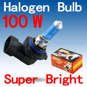 Ampoules (2) Xenon 9005/HB3 100W 5000K super white bulb set