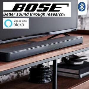 NEW* BOSE SOUNDBAR 500 799702-1100 275574797 BLUETOOTH AND WORKS WITH ALEXA IN BLACK