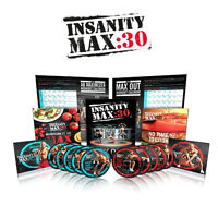 FOCUS T25, INSANITY, MAX30, P90X *new and authentic*